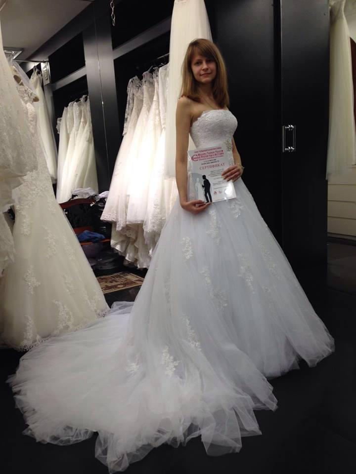 Участница выставки Wedding Fashion Moscow